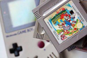 Mario en de ouderwetse gameboy om me weer even jong te voelen