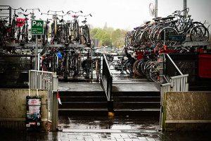 Fietsbootstalling in AMsterdam