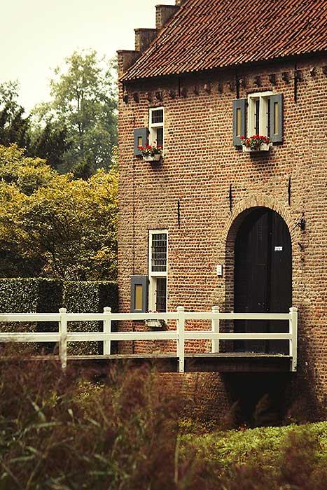 De poort voor Kasteel Croy
