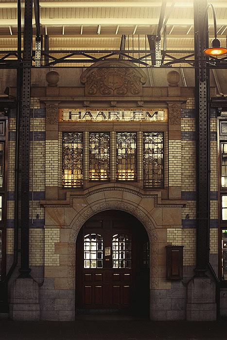 Fotoserie: Station Haarlem