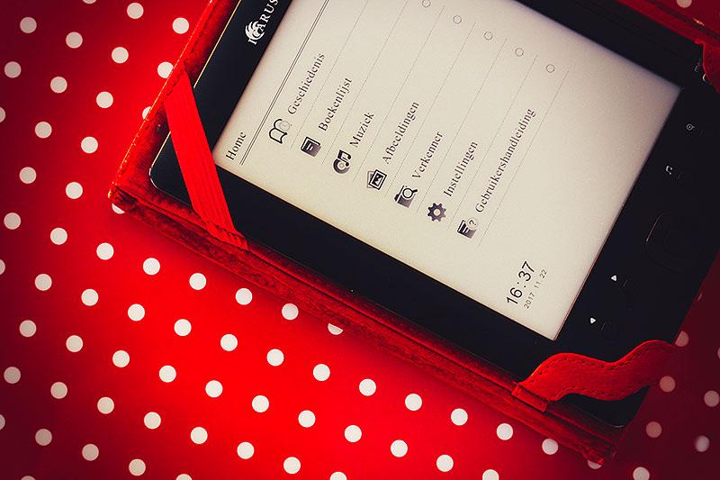 Waarom mijn e-reader stof ligt te vangen