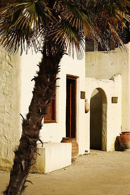 Arabisch dorp Oman.