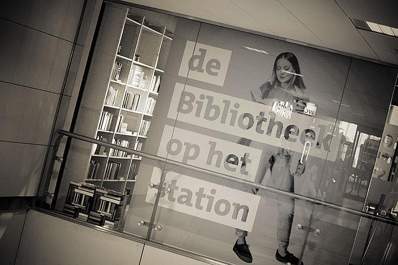 Bibliotheek op Rotterdam centraal