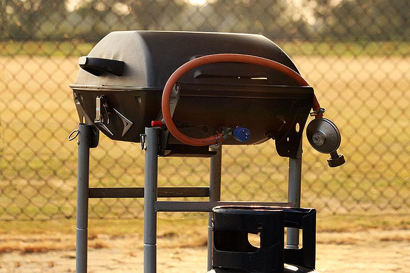 Pesthekel aan barbecueën
