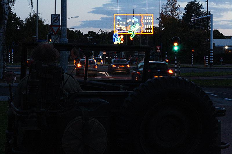 Lichtjesroute rijden