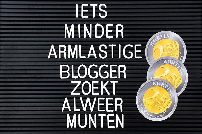 Iets minder armlastige blogger zoekt alweer munten