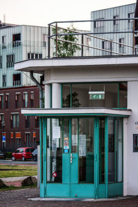 Vliegveld gebouw Meerhoven