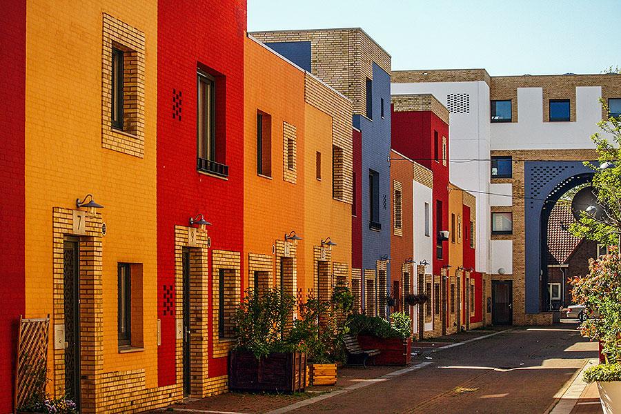 Volta Galvani: De kleurrijke wijk van Eindhoven