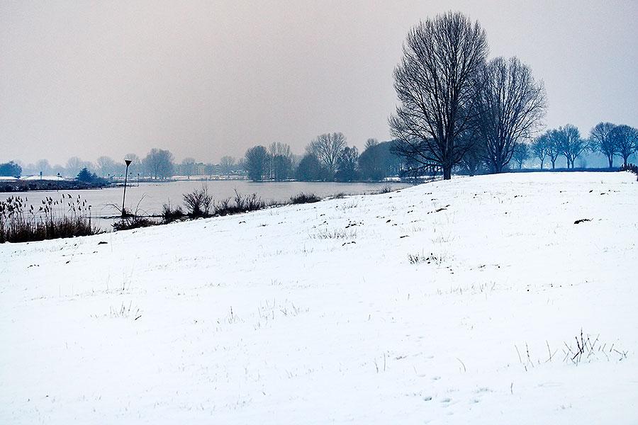 Sneeuwfoto's maken