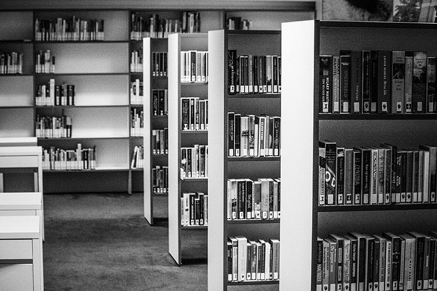 Even zeiken over mijn bibliotheek