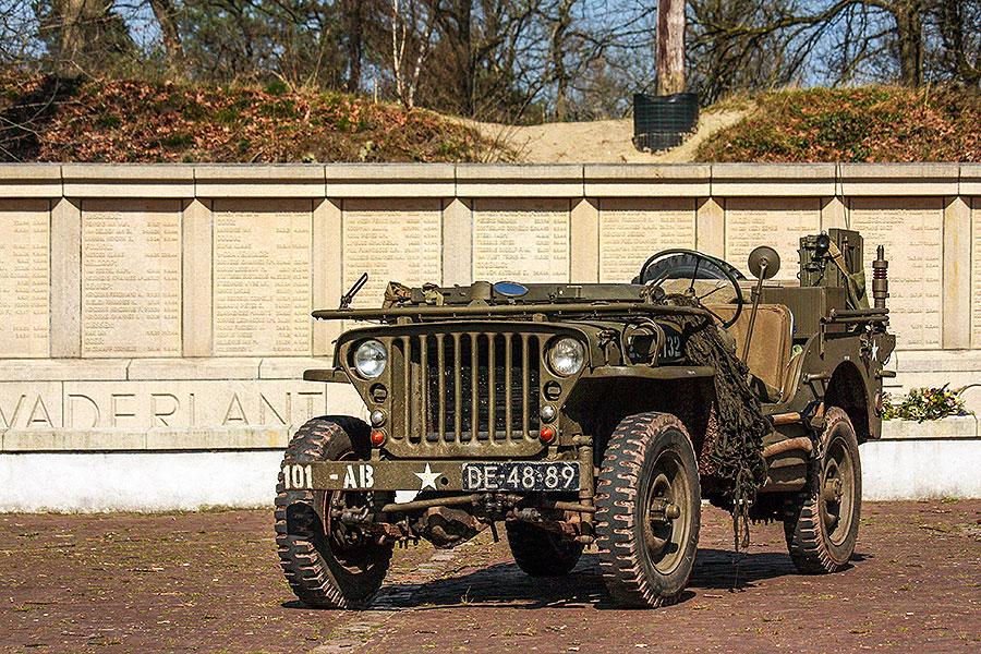 De eerste Willys jeep roadtrip van het jaar